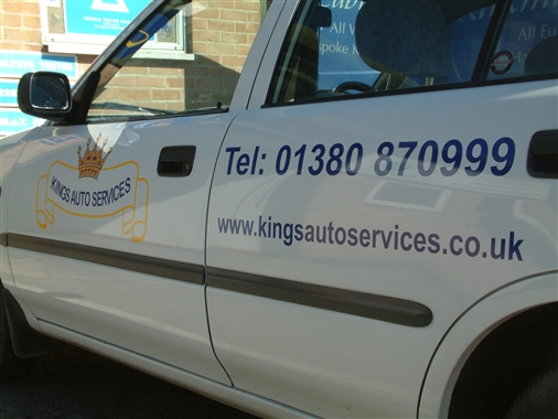 A slideshow of pictures from Kings Auto Services, MOT Station.